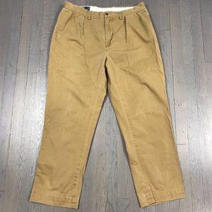 Polo Ralph Lauren Pleated Khaki Chino Ethan Pants